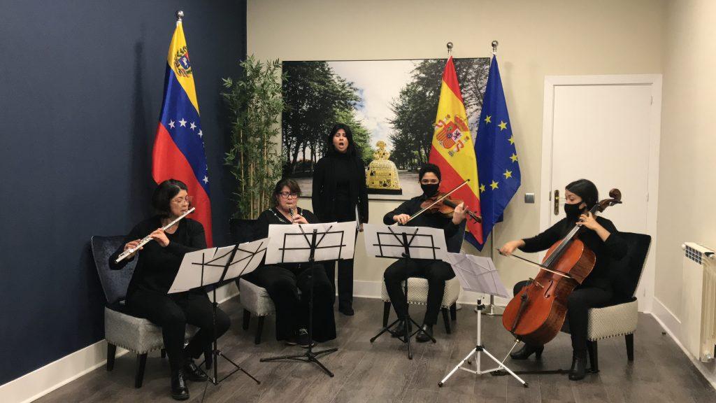 Embajada de Venezuela en España conmemora los 190 años de la muerte del Libertador Simón Bolívar